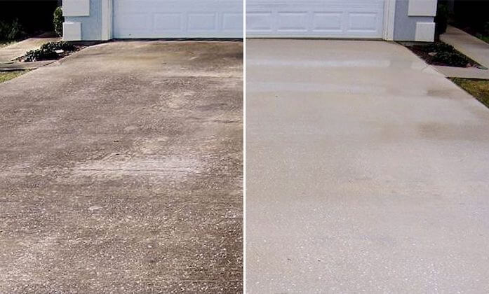 pearland driveway cleaning