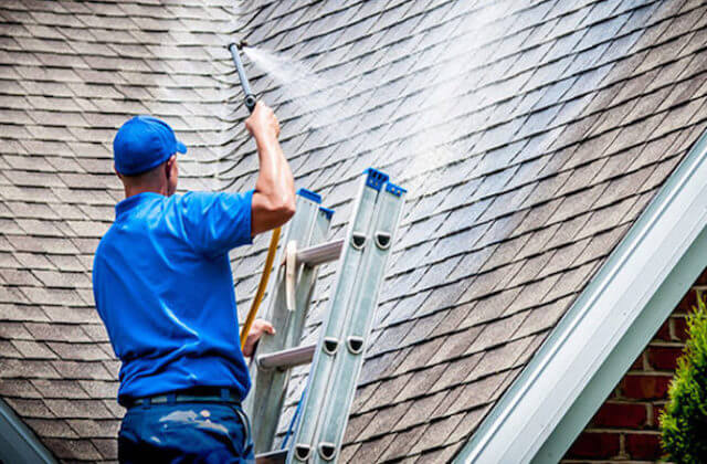 pearland roof cleaning